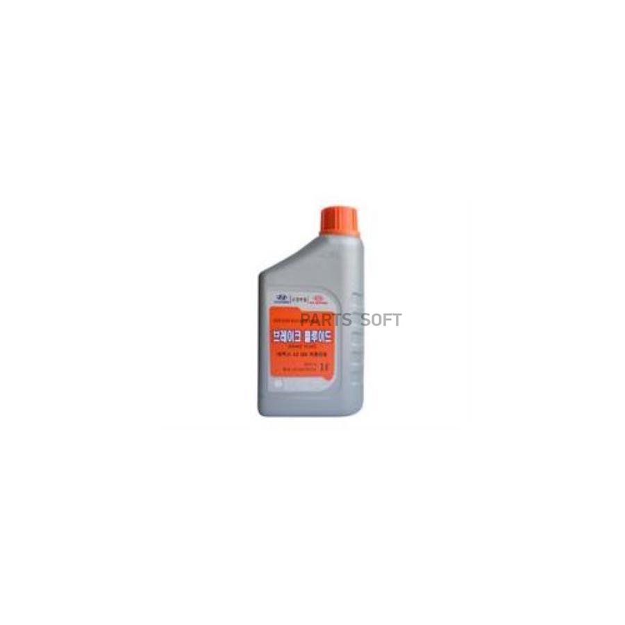 Жидкость тормозная dot 4, 'BRAKE FLUID', 1л