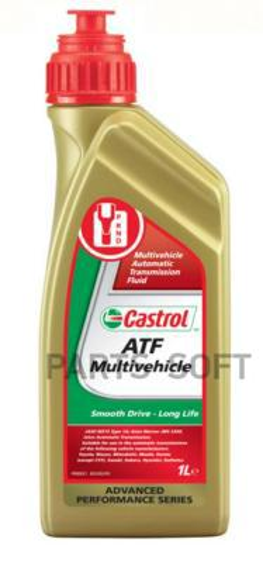 Масло трансмиссионное синтетическое ATF Multi-Vehicle, 1л
