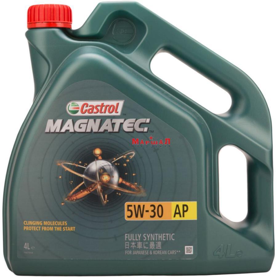 CASTROL 15C93D Масло моторное magnatec 5w-30ap 4 л. гр.упак. 4 шт.