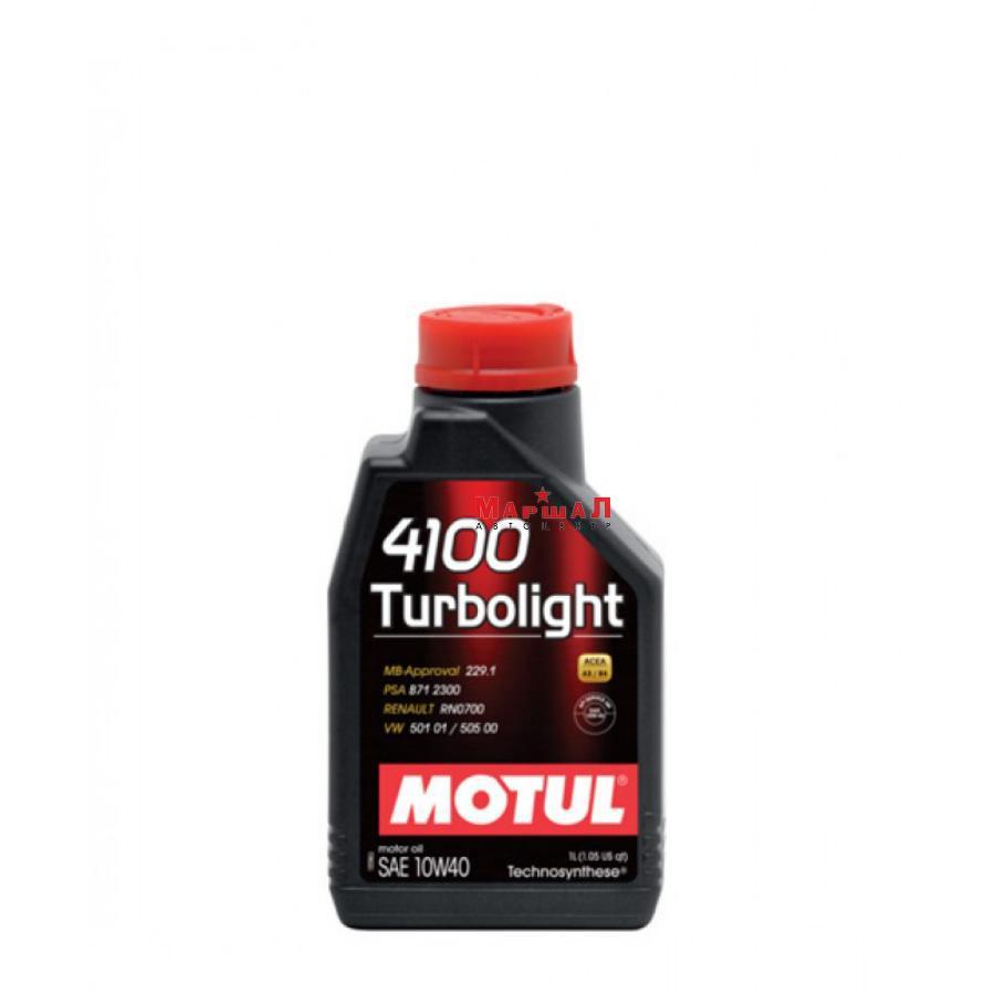 Моторное масло 4100 Turbolight