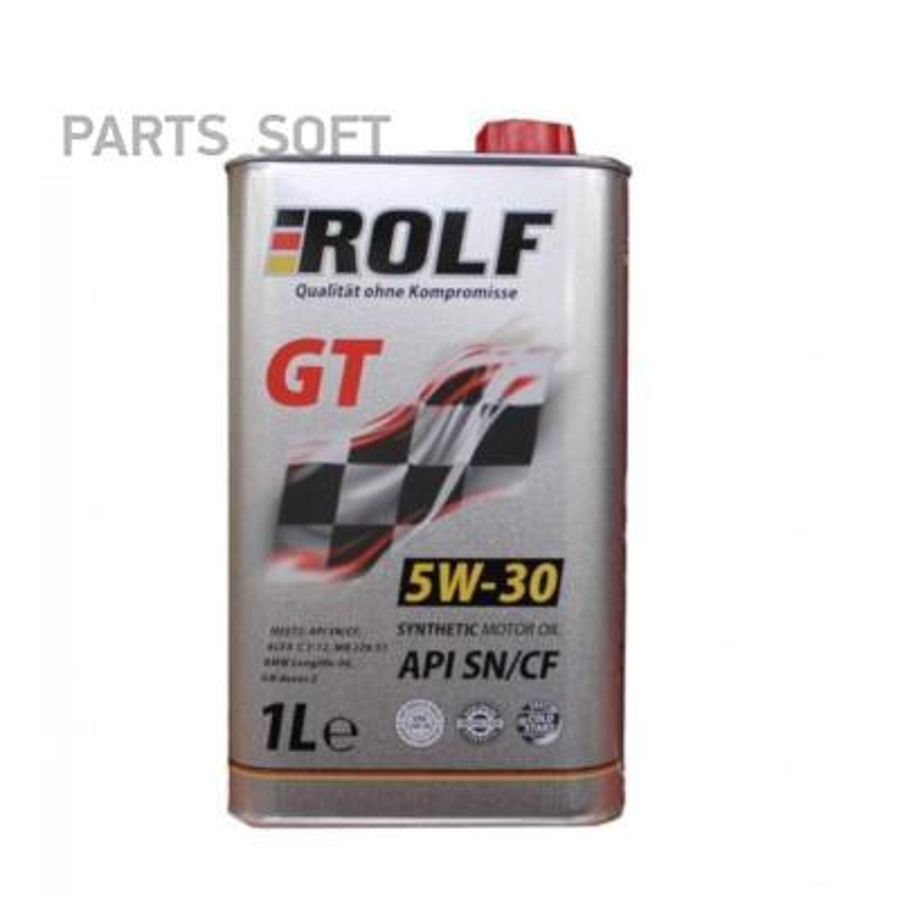 МАСЛО ROLF GT 5W30 SN/CF (1Л) СИНТ.