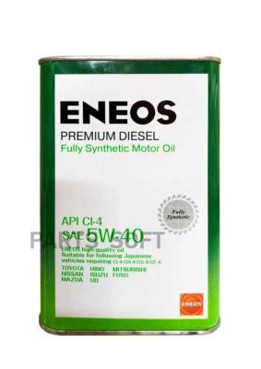 Масло моторное синтетическое Premium Diesel 5W-40, 4л