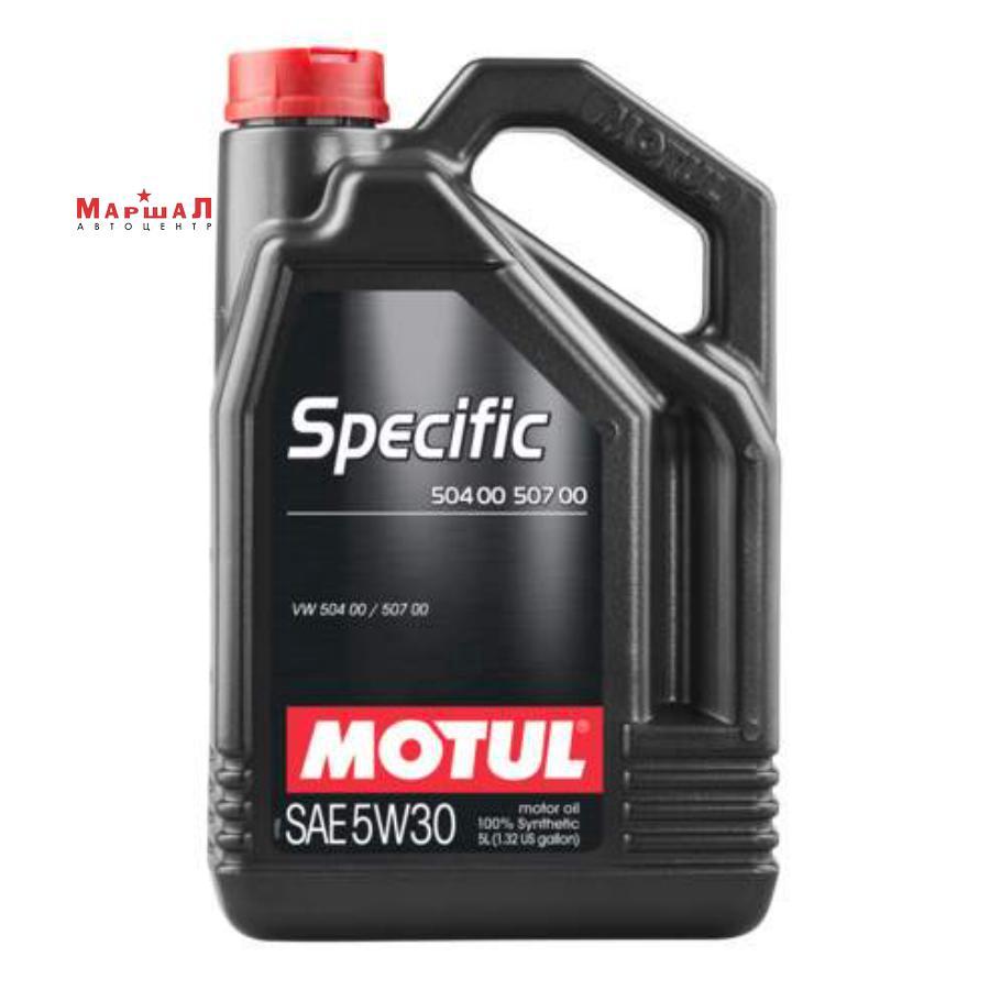 Масло моторное синтетическое Specific 504,00-507,00 5W-30, 5л