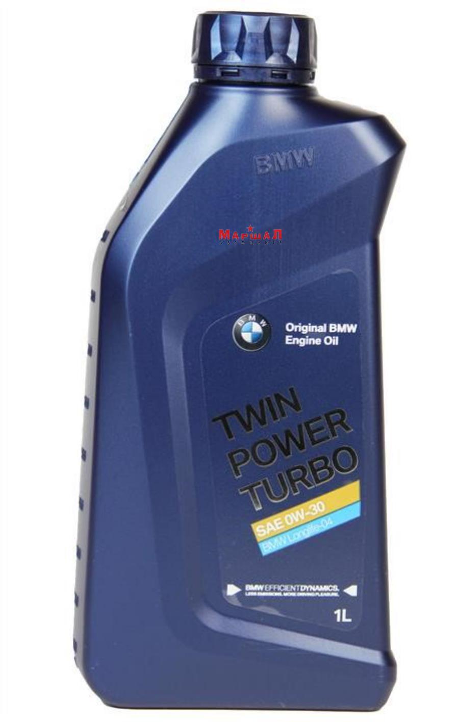 Моторное масло BMW TwinPower Turbo LONGLIFE-04 0W-30, 1л