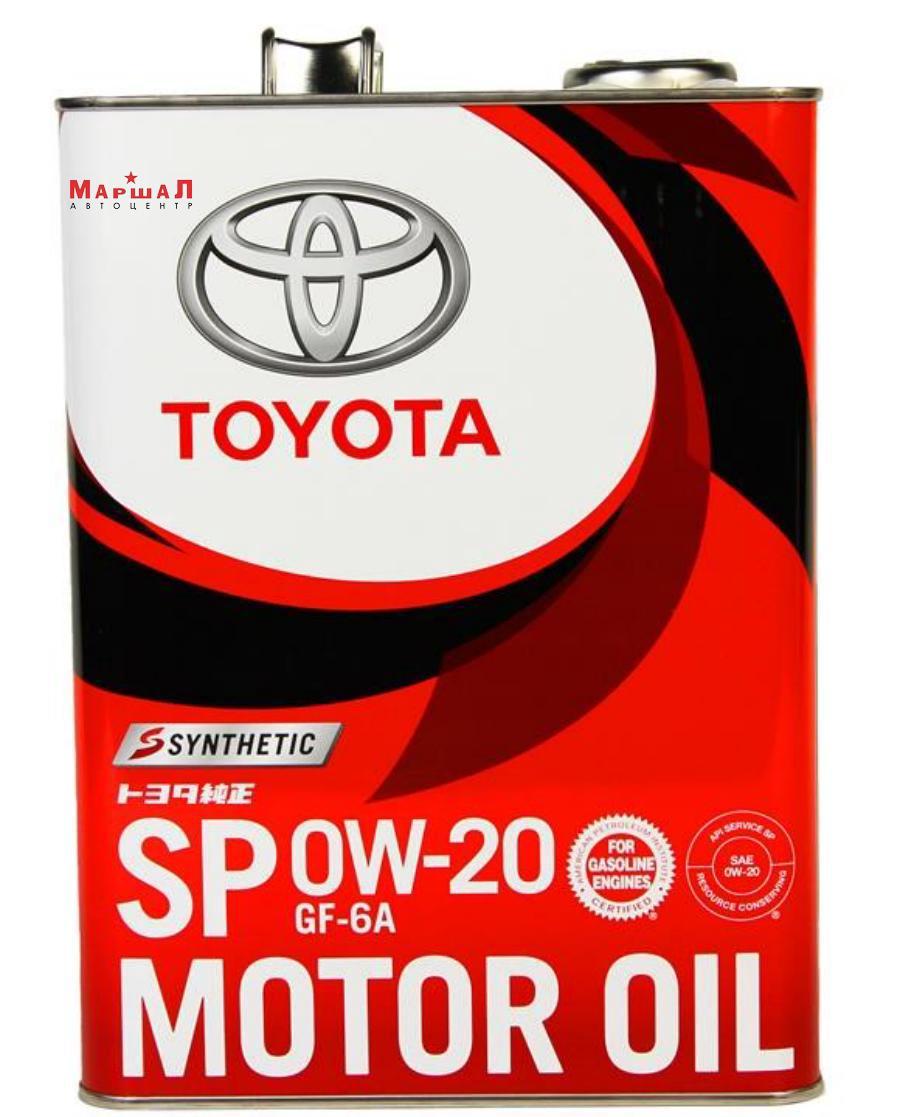 Масло моторное синтетическое Motor Oil 0W-20