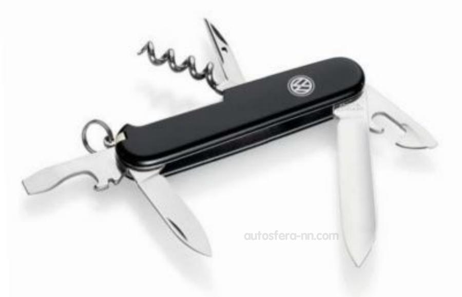 Нож складной в чехле Volkswagen Knife Multitool