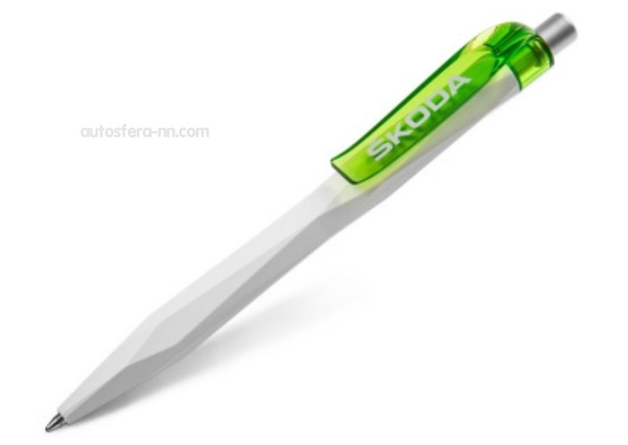Шариковая ручка Skoda Ballpoint Pen White/Green
