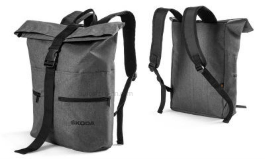 Рюкзак Skoda Backpack Halfar Grey Melange