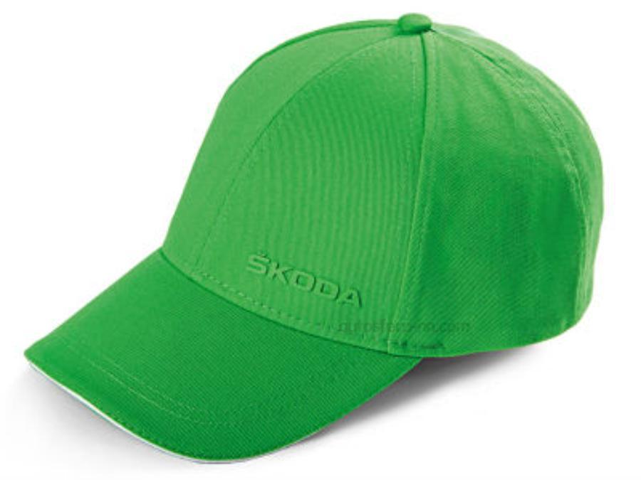 Бейсболка Skoda Unisex зелёная