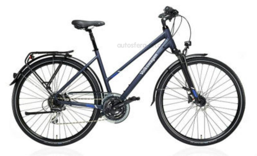 Женский трекинговый велосипед Volkswagen Trekking Bike Ladies Matt Blue