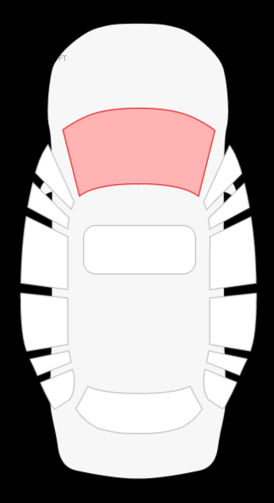Honda CRV III 5D универсал (без полосы)