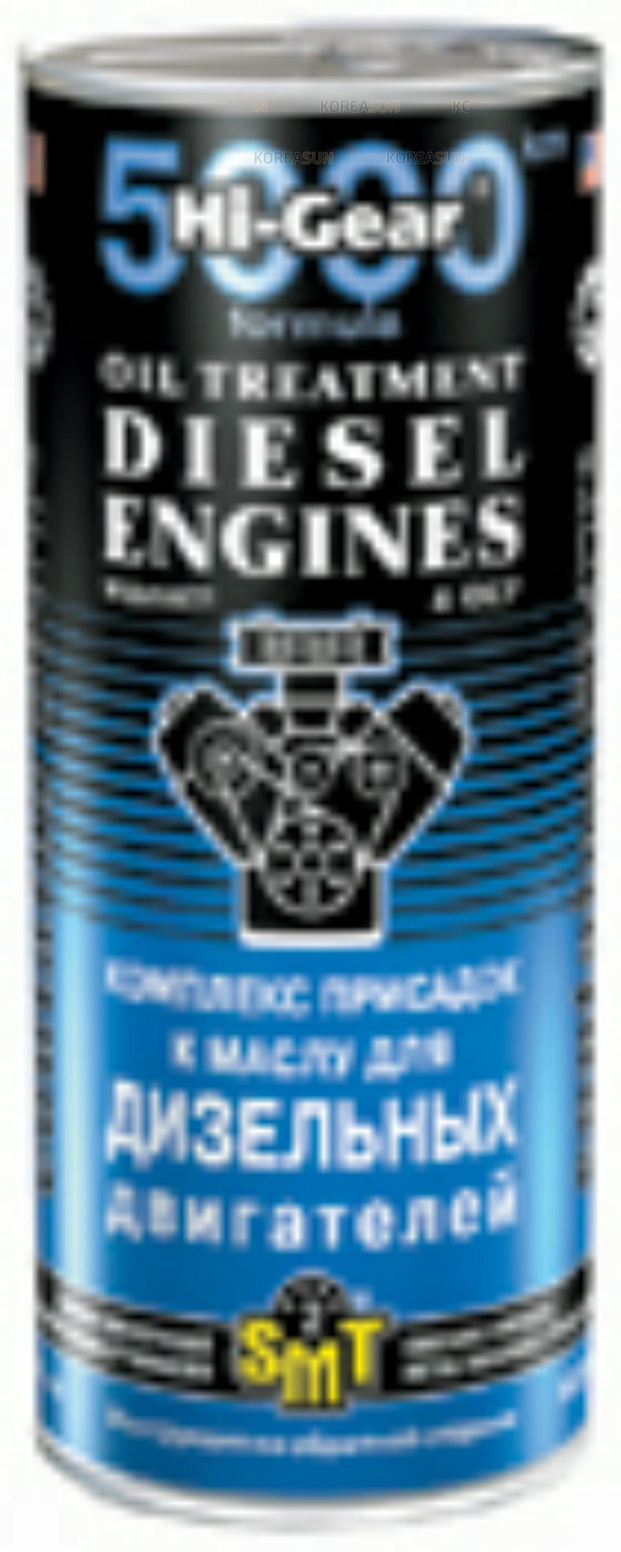 Комплекс суперприсадок к маслу для дизельн.двигателей 444мл (12шт)