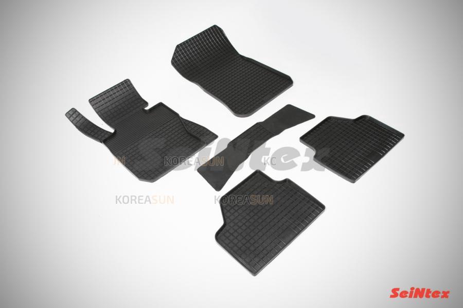 Резиновые коврики Сетка для BMW X-1 E-84 2009-2015