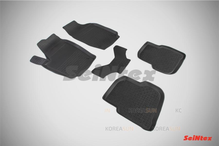 Резиновые коврики Стандарт для Volkswagen Polo Sedan 2010-