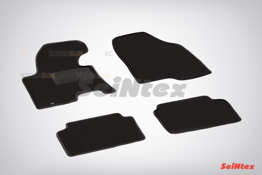 Ворсовые коврики LUX для KIA Cee'd 2012-н.в.