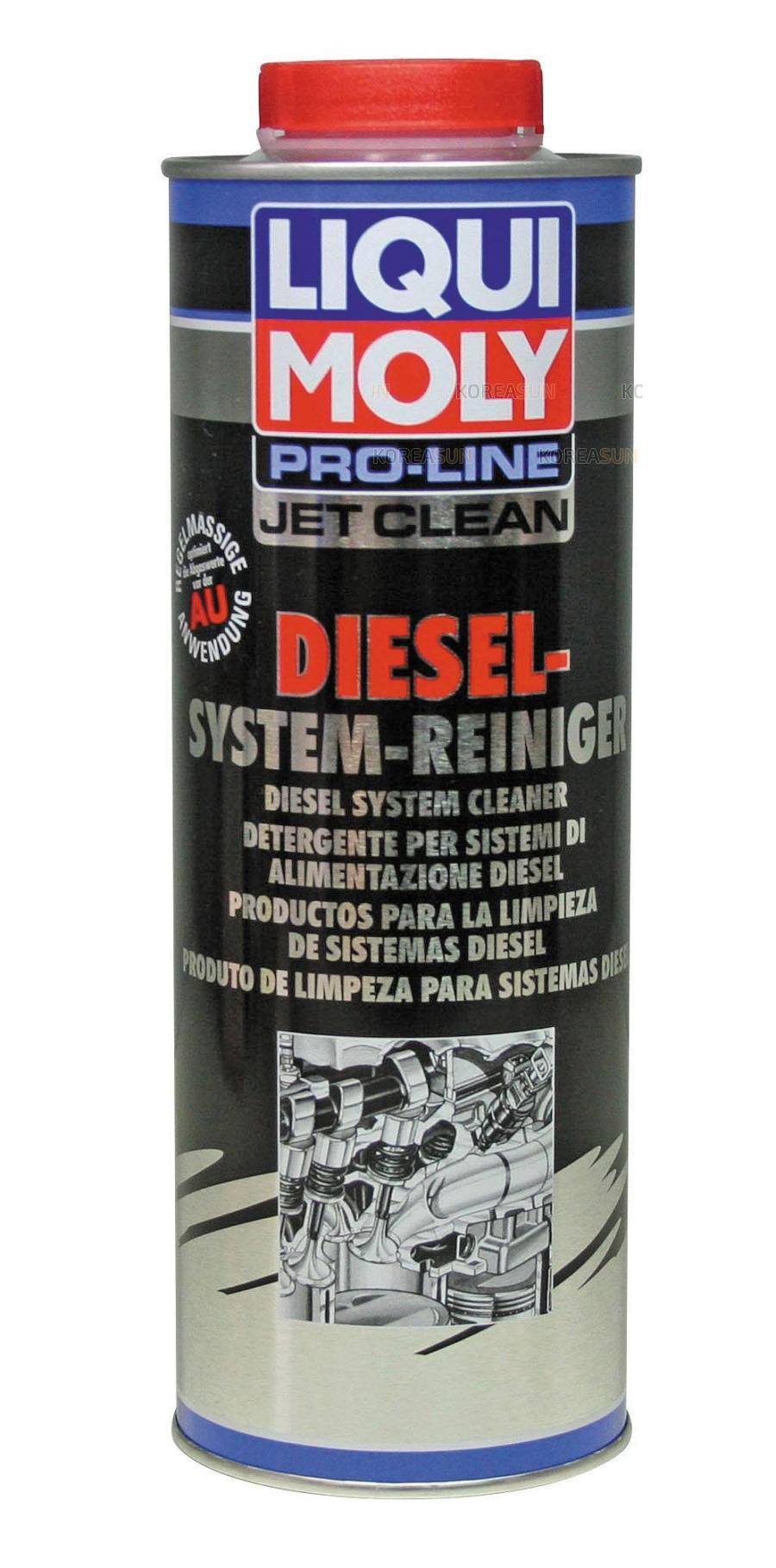 Жидкость для очистки дизельных топливных систем Pro-Line JetClean Diesel-System-Reiniger 1л