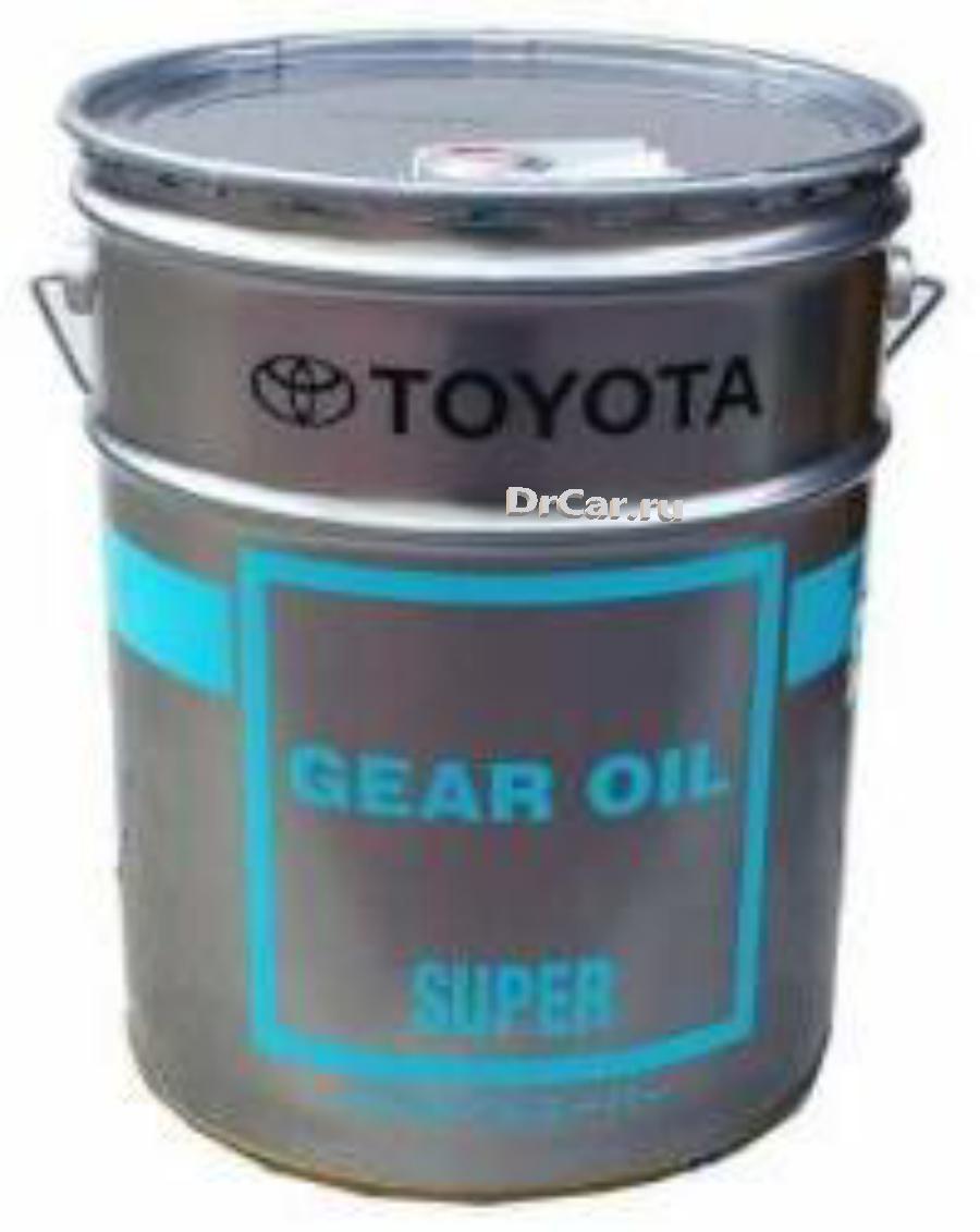 Масло трансмиссионное синтетическое Gear Oil Super 75W-90, 20л