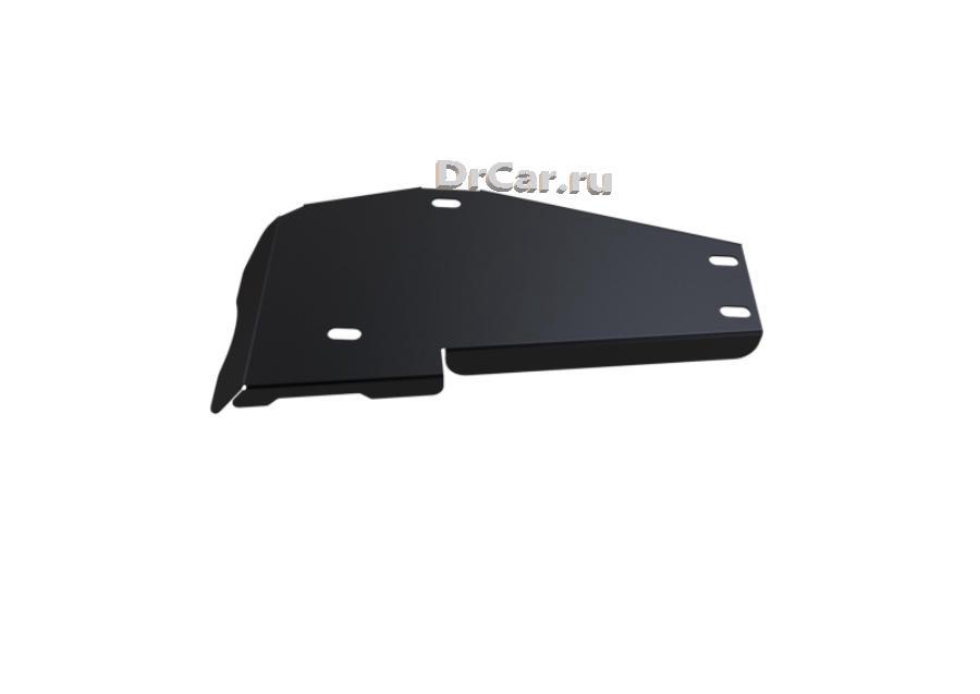 Защита редуктора Hyundai Santa Fe III 2012-.../Kia Sorento II 2012-..., сталь 2 мм, комплект крепежа