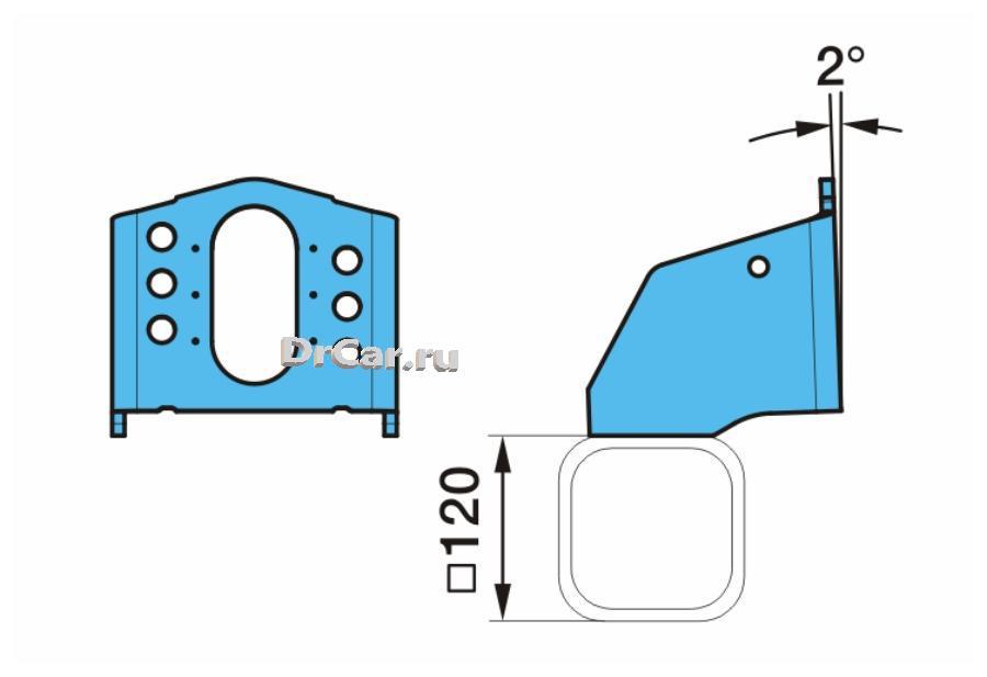 Кронштейн тормозной камеры