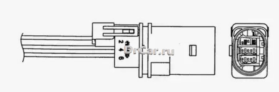 Датчик кислородный UAR0001HD008