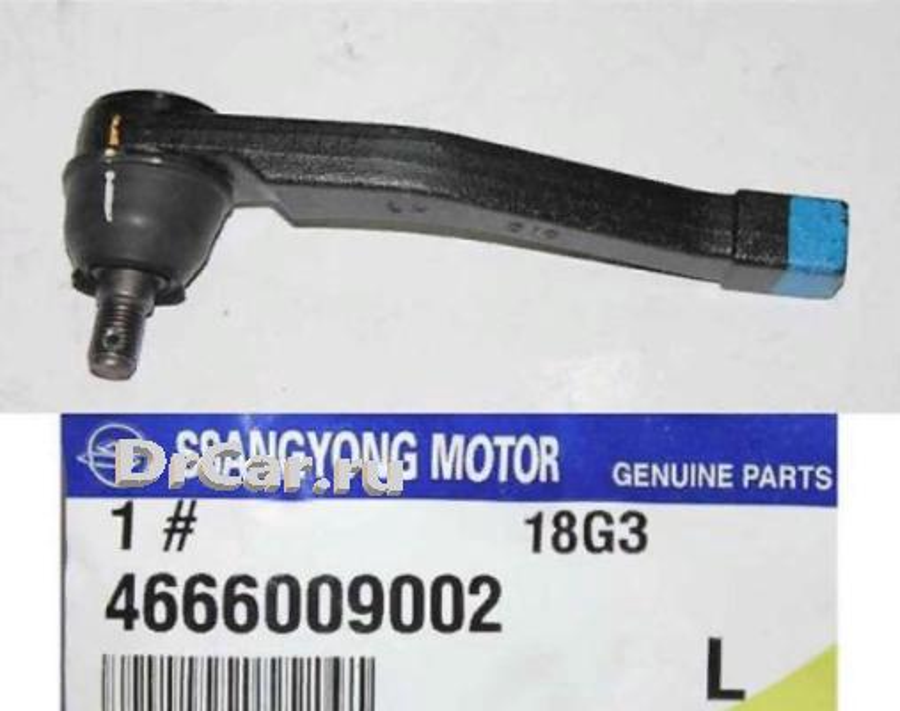 наконечник рулевой тяги SSANGYONG 4666009002