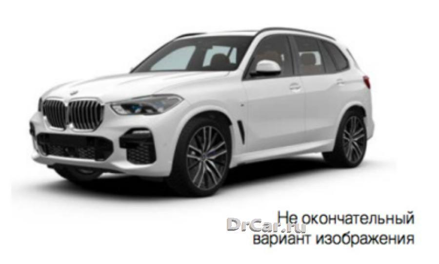 Модель автомобиля BMW X5 (mod.G05) Alpine White 1:18 Scale