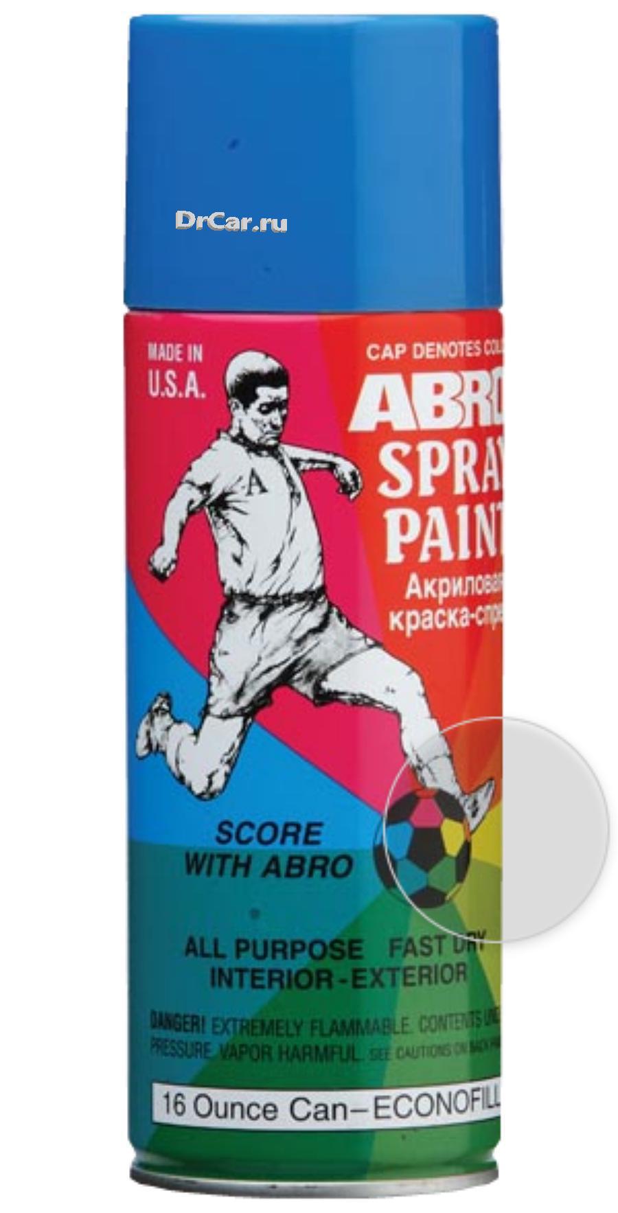 Краска-спрей ABRO №31 (лак)