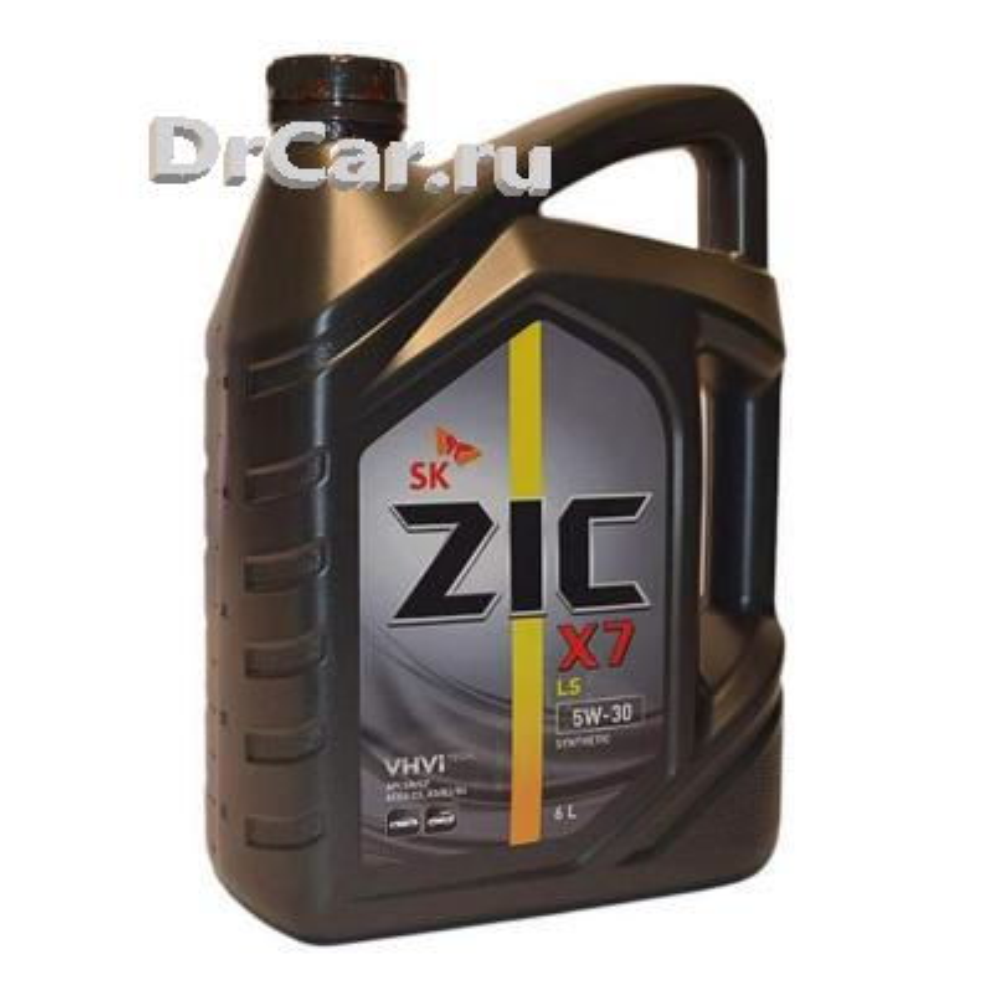 Масло моторное ZIC X7 LS 5W30 синтетическое 6 л 172619 ZIC 172619
