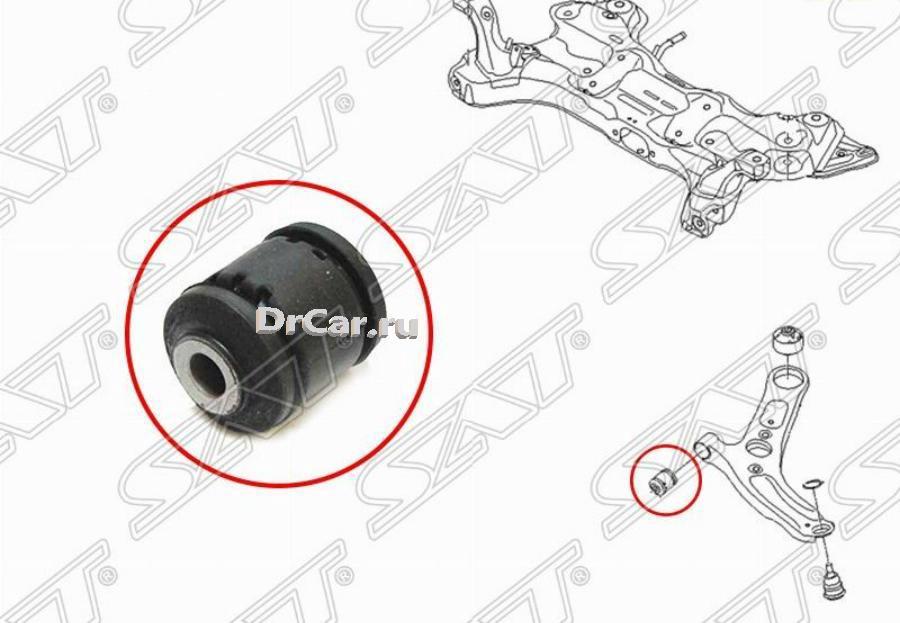 Сайлентблок переднего нижнего рычага передний HYUNDAI ELANTRA 11-15