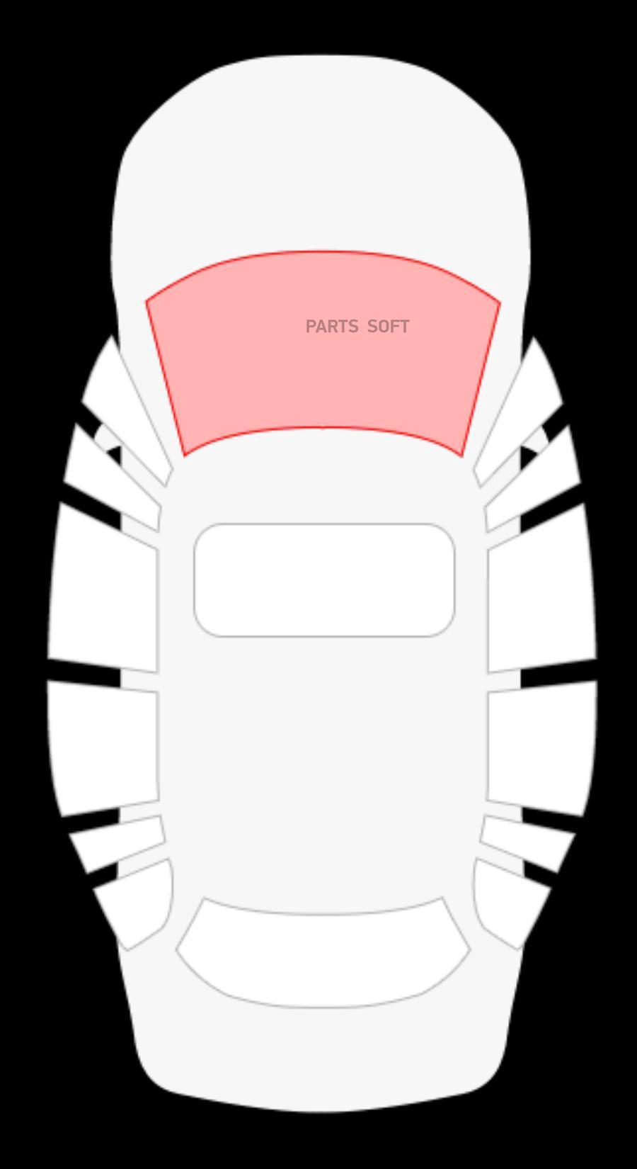 Honda Accord 4D седан / 5D Stw (изменения по шелку) (без полосы)