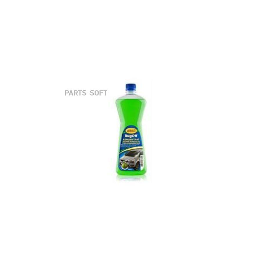 Жидкость стеклоомывателя летняя Bugoff концентрат 1:4 , 1л