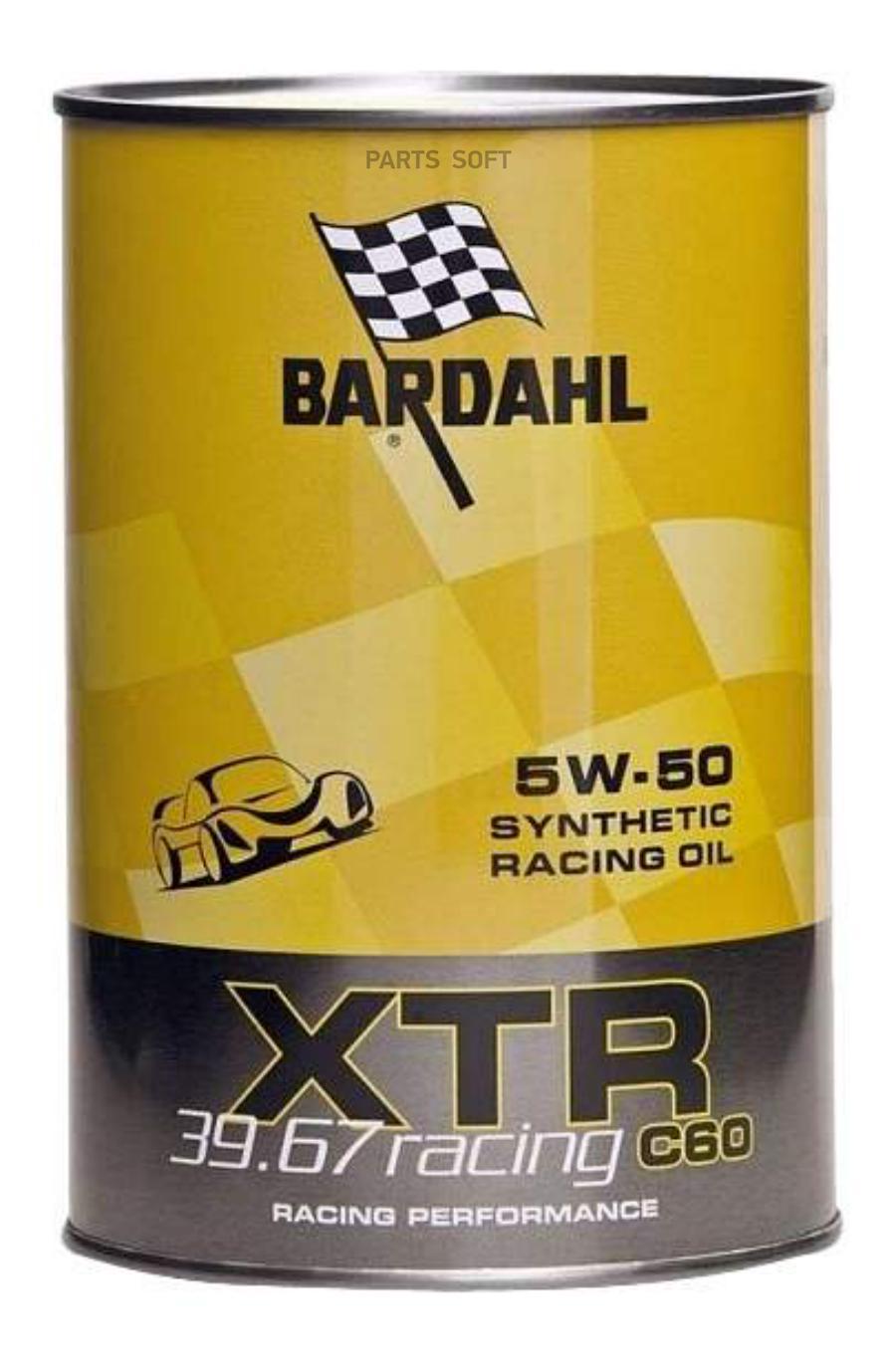 Масло моторное синтетическое XTR C60 Racing 39,67 5W-50, 1л