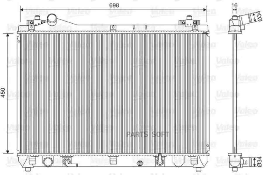 Радиатор, охлаждение двигателя