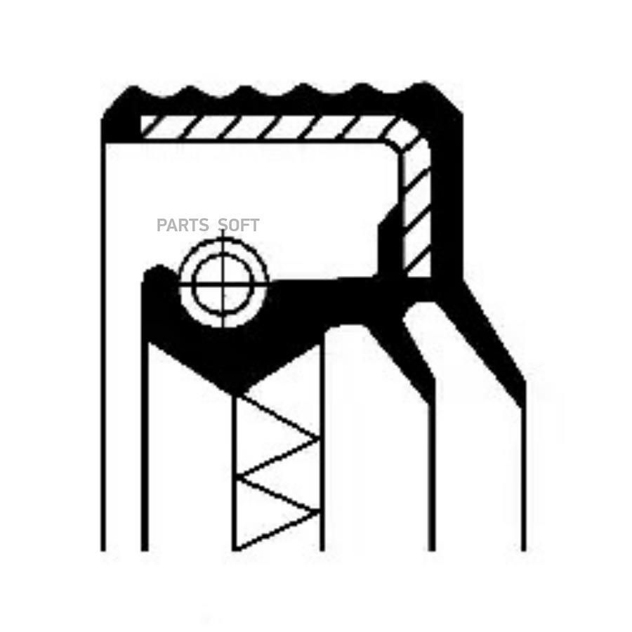 Уплотняющее кольцо, дифференциал; Уплотняющее кольцо, раздаточная коробка; Уплотняющее кольцо, ступица колеса