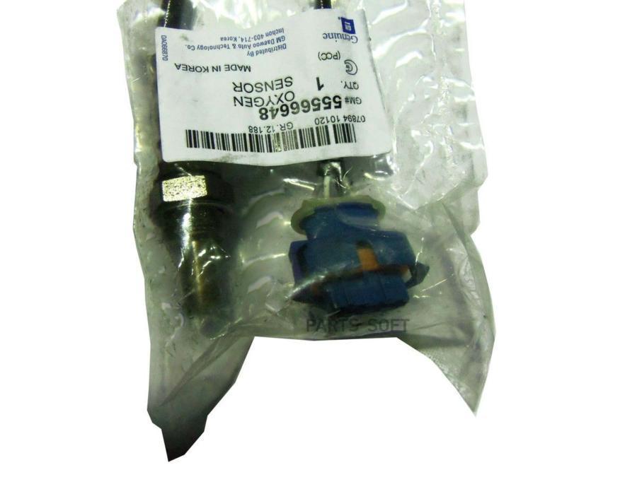 Датчик кислородный (в приемную трубу)  Chevrolet Cruze 1,6(82kW) 1,8/Orlando 1,8 DAEWOO 55566648