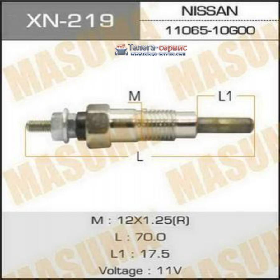Свеча накаливания  PN-132 /SD23, SD25   (1/10/100).