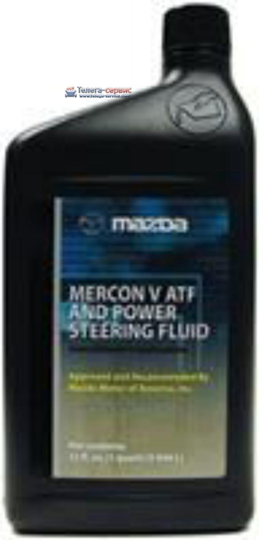 Масло трансмиссионное MERCON V ATF PSF, 1л