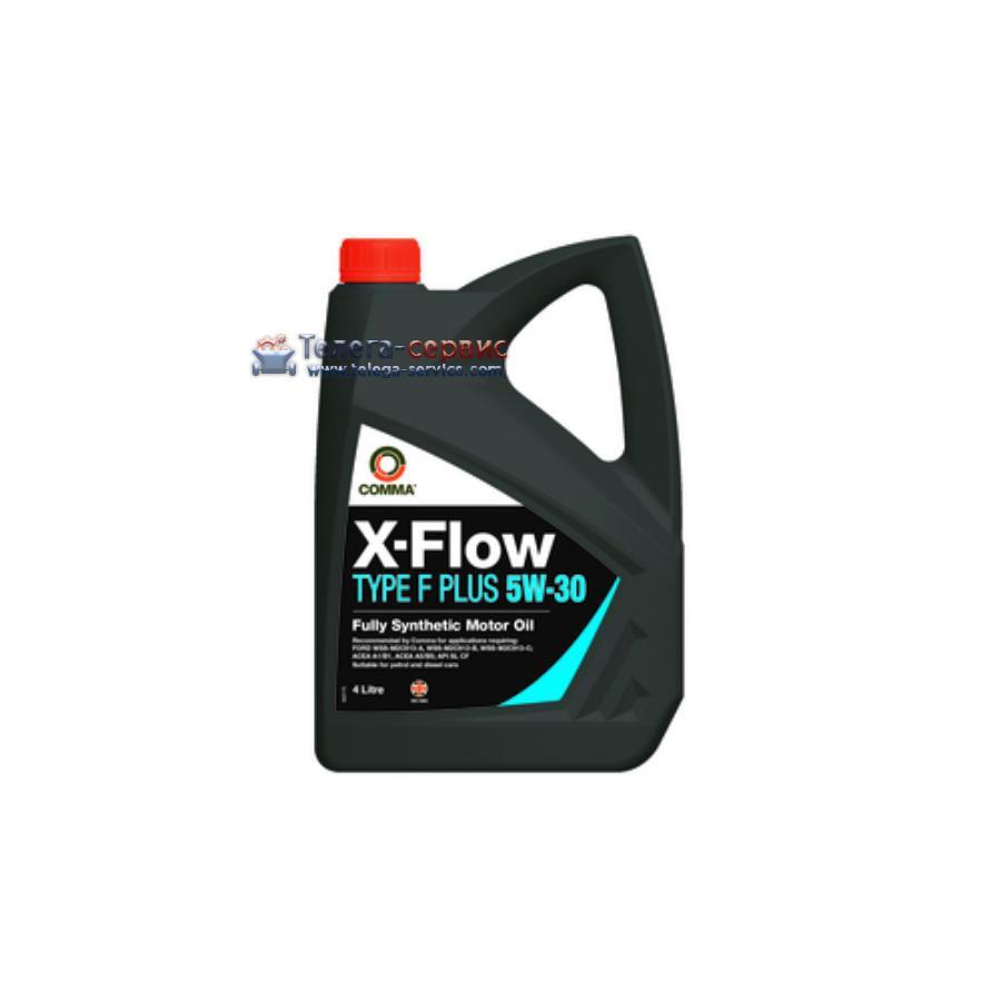 Масло моторное синтетическое X-FLOW TYPEF PLUS 5W-30, 4л