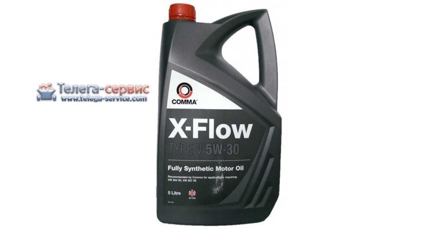 Масло моторное синтетическое X-FLOW TYPE V 5W-30, 4л