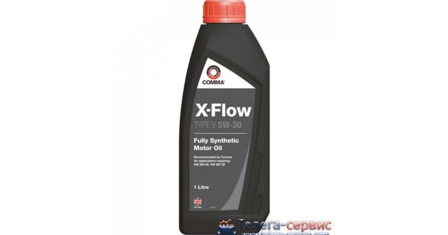 Масло моторное синтетическое X-FLOW TYPEF PLUS 5W-30, 1л