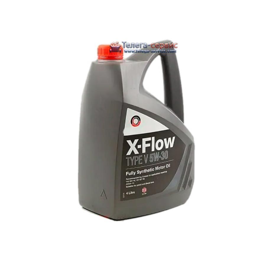 Масло моторное синтетическое X-FLOW TYPE V 5W-30, 5л