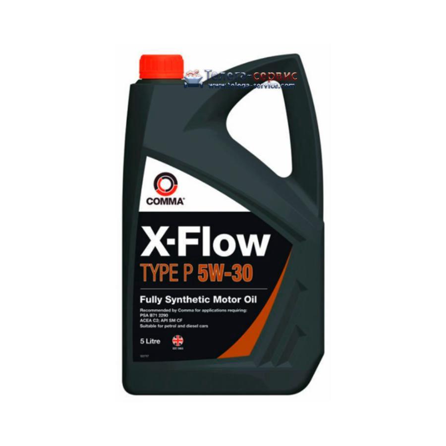 Масло моторное синтетическое X-Flow Type P 5W-30, 5л