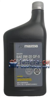 Масло моторное синтетическое With Moly Engine Oil 0W-20, 0,946л