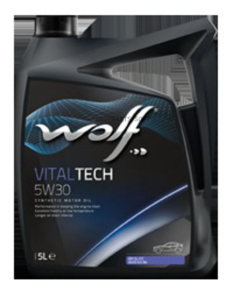 Масло моторное WOLF VITALTECH 5W30 5L СИНТЕТИКА