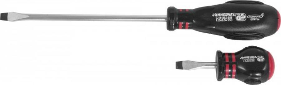 Отвертка шлицевая Hercules SL 1,0х5,5х125, 225 мм