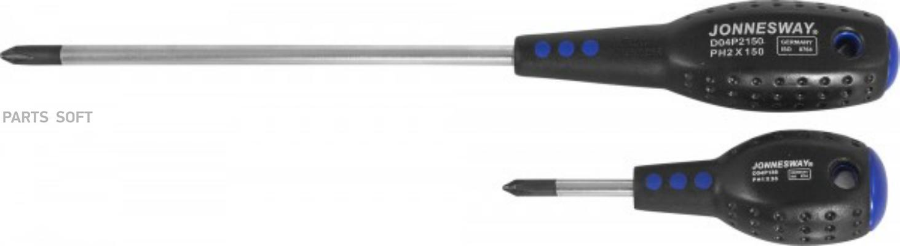 Отвертка крестовая Full Star PH#1х80, 171 мм