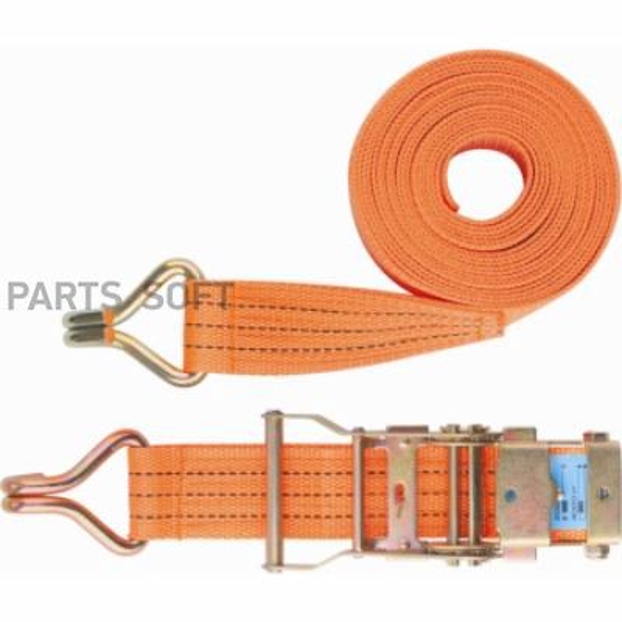 Ремень багажный с крюками, 0,05х6м, храповый механизм STELS Россия