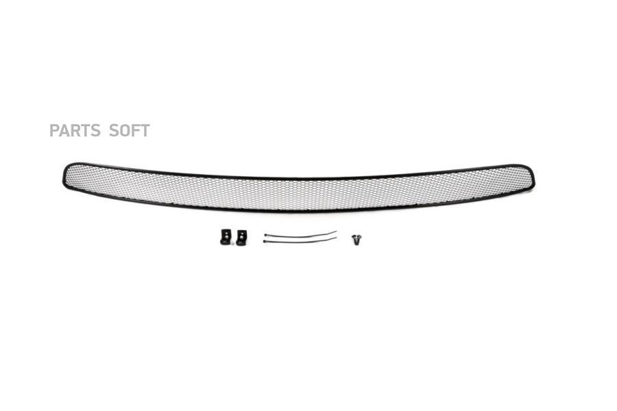 Сетка на бампер внешняя для KIA Sportage 2016->, черн., 15 мм