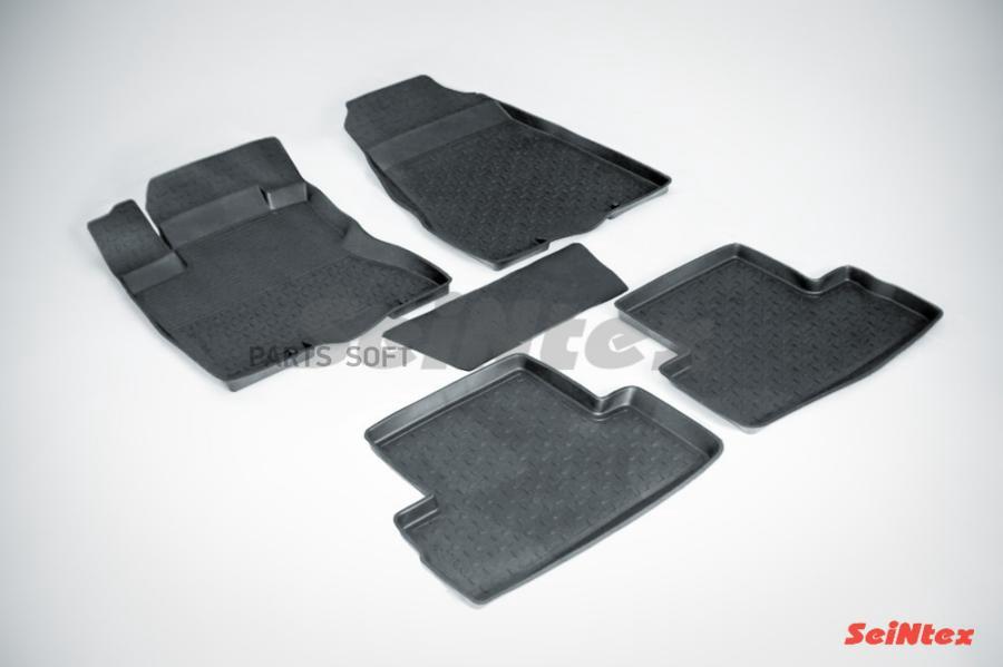 Резиновые коврики с высоким бортом для Nissan X-Trail (T31) 2007-2015
