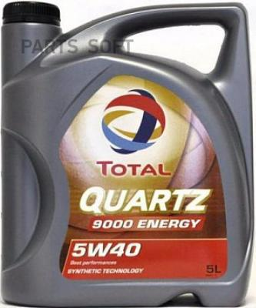 """Масло моторное синтетическое TOTAL QUARTZ 9000 ENERGY 5W-40"""" SL/CF 5л"""